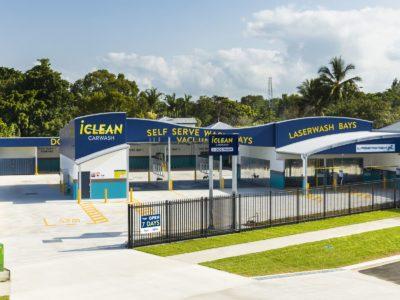 Iclean car wash and dog wash cairns